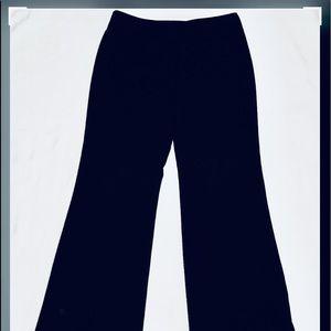 black slacks Size 12 By New York & Co